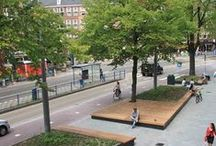urban spaces. / Living in a city should be designed for humans.