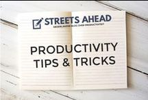Productivity & Time Management / productivity, productiviteit, tips, tricks, hacks, productive, time, time management, being productive