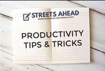 Productivity & Time Management / productivity, productiviteit, tips, tricks, hacks, productive, time, time management, being productive
