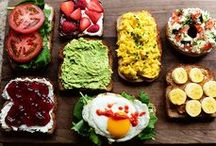 Toast Toppers / Love toast? Try these toast toppers next.
