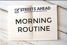 Morning Routine / Morning routine, routines, morning rituals, to do each morning, getting up, good start of the day, ochtend, ochtendroutine