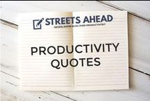 Productivity Quotes / Productivity quotes, productive, citaten, gezegdes, time management, inspiration, motivation