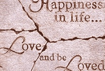 Lovers / There is only one Happiness in life... Love and be Loved / by Beauty On Earth