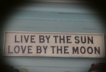 """Sun & Moon / Live By The """"Sun"""" - Love By The """"Moon"""" / by Beauty On Earth"""