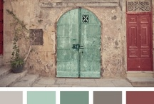 Colour pallettes we get inspired of!