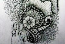 Inspired Art by ÁJA / Vlastní kresby