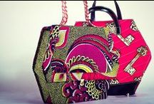 AFRIKAN fabric CLUTCH PURSES & BAGS