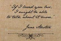 ...jane austen / by ...somewhere in time