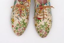 • flower shoes