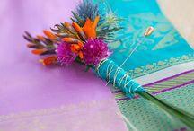 lilac and aqua