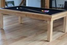 Our Colour 0 (Natural) - Luxury Pool Tables / A selection of our Pool Tables in various styles and wood types, all finished in Wood Colour 0