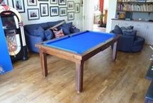 Our Colour 3 - Luxury Pool Tables / A selection of our Pool Tables in various styles and wood types, all finished in Wood Colour 3
