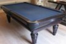 Our Colour 4 - Luxury Pool Tables / A selection of our Pool Tables in various styles and wood types, all finished in Wood Colour 4