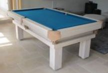Our Colour 8 - Luxury Pool Tables / A selection of our Pool Tables in various styles and wood types, all finished in Wood Colour 8