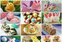 Easter / Everything Easter; Easter Art ideas for kids, Easter Treats...