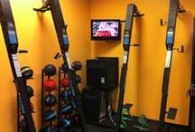 VersaClimber Wall mounted / Equipment mounted and more. / Check out these other mounting options for VersaClimber.