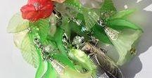 Bijoux et créations de Créaworkshop / Vente en ligne de bijoux fantaisie fait main. Création de bijoux fantaisie : boucles d'oreilles, bracelets, colliers, pendentifs, marque-pages, bijoux de sac.