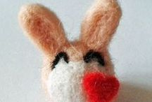 my felt / My shy attempts on creating felted things