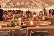 Outdoor Wedding / Let us help you plan a beautiful and unforgettable outdoor wedding and reception.