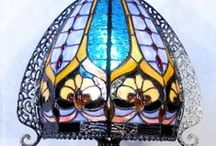 Tiffany style / Glass - Lamps