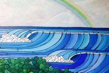 Surf love paint. ART!!! / Original paintings sold on Etsy surflovepaint