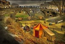 Villaggi medievali e interni / Borghi antichi