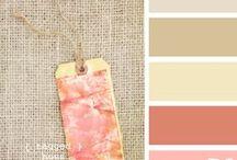 Nuance / Colori / Toni e tinte pastello