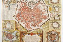 Mappe storiche Milano / Dal medioevo al XX secolo
