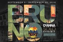 Bruno D'Anna | Solo Exhibit | September 2016 / Images of pieces in the exhibit