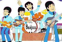 Beatles Cartoon Pop Art Show