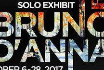 Bruno D'Anna  | Solo Exhibit | October 2017