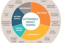 Impact Investing / Impact and socially responsible investing, ESG, SRI, CSR, sustainability and green alternatives.