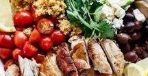 Manger sain ~ Healthy food / Des recettes simples pour faire le plein d'énergie et de bonne santé. Egalement pour m'inspirer pour les semis dans le potager