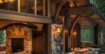 Lifestyle // Rustic / Ambiance rustique pour ces intérieurs de pierre et de bois très farmhouse