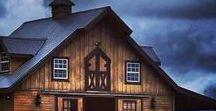 Granges d'antan // Old barns