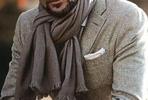 Men can wear Scarves