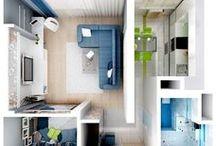 Interior design / Interiors, home design.