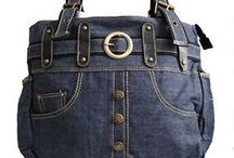 Upcycled jeans craft / by Joyce  Apache