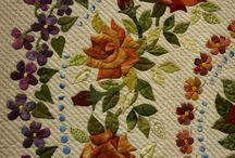 APPLIQUE- EMBROIDERY  FLOWER