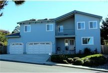 SOLD! 665 Silver Ave, Half Moon Bay / Gorgeous home just listed! With ocean view and huge lot!