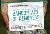 """Acts Of Kindness / """"No act of kindness, no matter how small, is ever wasted""""~Aesop"""