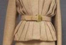 Vintage Women's Suits / Vintage daytime and evening suits for ladies.