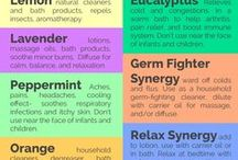 Essential Oil Uses / The many different uses of 100% Pure Essential Oils.