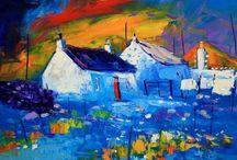 oil painting landcape