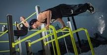 Street workout / The Lappset Street Workout frames have been developed in collaboration with the Finnish Street Workout association. They are based on the Lappset Fitness range of equipment. Lappset Sport areas can be designed also for Inclusive use!