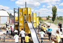 Inspiring school yards / School yards around the world who give children place to play and exercise - helping them to learn better during lessons at the same time.