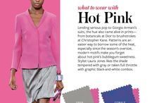 Color combination (Hot) Pink