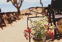Desert Weddings / With great weather nearly year-round, the desert is not only a perfect place to have your wedding, but also a great inspiration for all the details that make your day special.