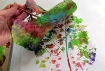 Nature Arts & Crafts / There are so many ways to get creative with the Nature around you!