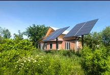 CK Environment Centre / Green features can be integrated into all parts of our lives. The Camp Kawartha Environment Centre is one example of a building showcasing sustainable building practices and energy conservation.